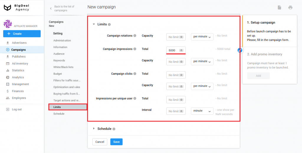 Recommendations for Successful Launch of New CPA Campaign